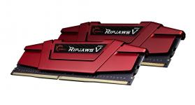 G.SKILL 16GB DDR4 3600MHz Kit (2x8GB) RipjawsV Red
