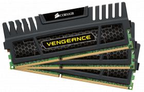 Corsair 12GB DDR3 1600MHz Kit (3x4GB) Vengeance XMP